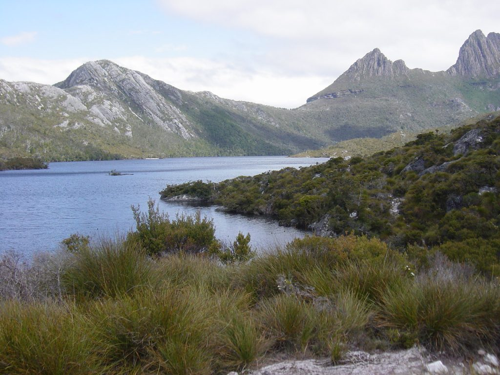 hansons peak cradle mountain