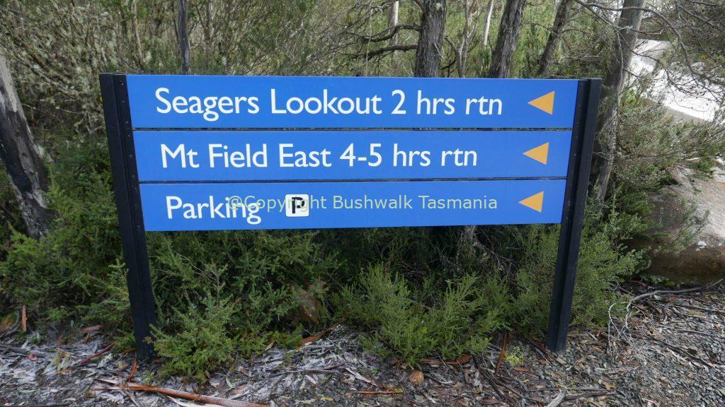 seagers lookout walk mt field